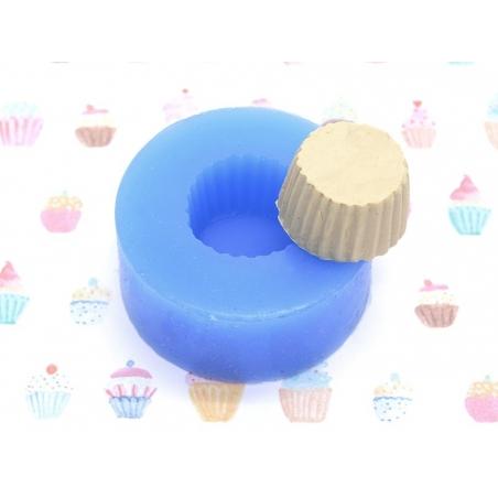 Silicone mould - Mini cupcake / cupcake base, Ø14 mm