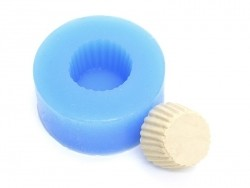 Silicone mould - Mini cupcake / cupcake base, Ø14 mm