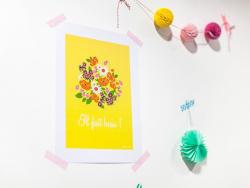 "Carte postale ""Pour toi ! """