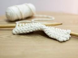 Aiguilles à tricoter en bambou - 15 mm