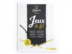 """Französisches Buch """" Jeux de fil - Tricot, crochet, broderie, jacquard et autres techniques"""""""
