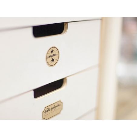 Acheter 32 stickers étiquettes kraft - 2,79€ en ligne sur La Petite Epicerie - Loisirs créatifs