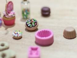 Moule base de cupcake en silicone