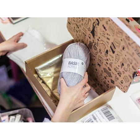 """Acheter Laine à tricoter """"Basic Acrylic"""" - gris clair - 3,30€ en ligne sur La Petite Epicerie - Loisirs créatifs"""