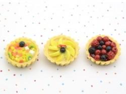 Exotic Fruit Cake Pendant