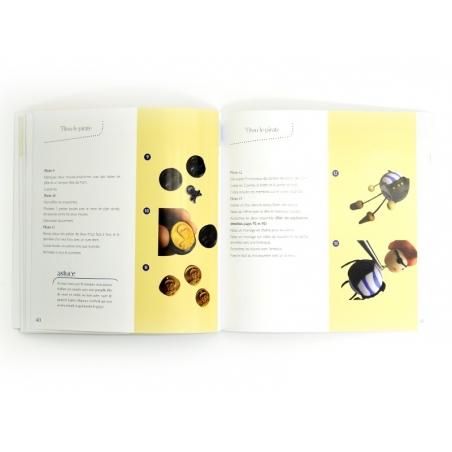 """French book """" Grigris en pâte polymère - 3e édition"""""""