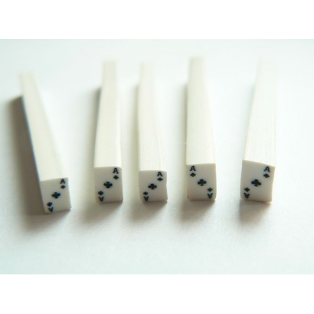 Acheter Cane carte as de trèfle- en pâte polymère - à trancher - 0,99€ en ligne sur La Petite Epicerie - Loisirs créatifs