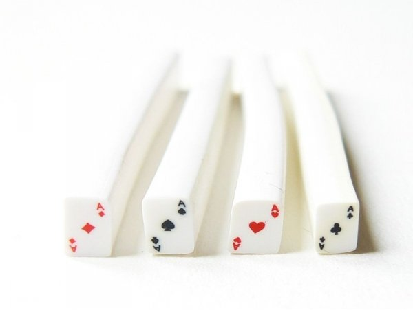 Set of 4 ace cards