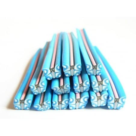 Acheter Cane papillon bleu en pâte fimo - 0,99€ en ligne sur La Petite Epicerie - 100% Loisirs créatifs