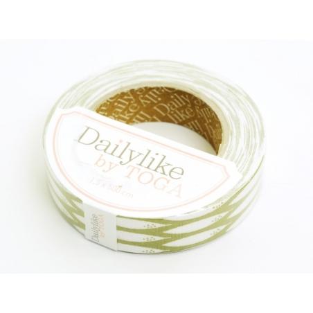 Fabric tape- Bambou vert