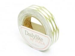 Fabric tape - Green bamboo