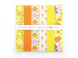 Papiers à origami Floral - Séraphine par Fifi mandirac