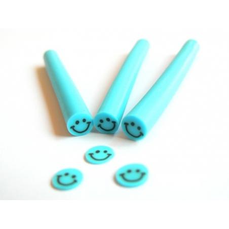 Smiley cane - blue