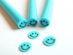Cane sourire Bleu