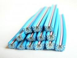 Schmetterlingscane - blau