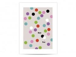 """Mini-affiche """"Toi & Moi"""""""