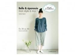 """French book """" Belle et épanouie - mon style à moi !"""""""