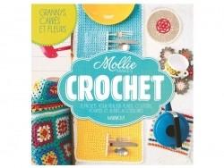 """French book """" Crochet : grannys, carré et fleurs de Mollies Makes"""""""