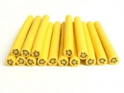 Smiley cane - yellow