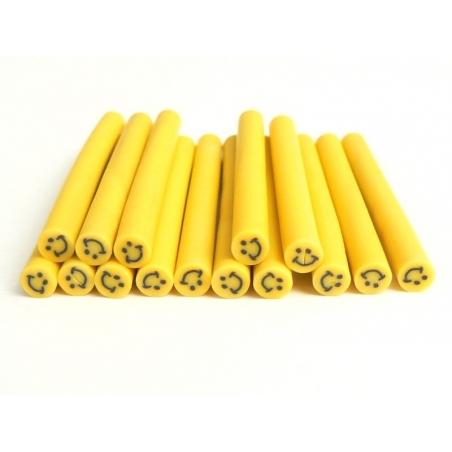 Acheter Cane sourire Jaune- en pâte polymère pour le modelage - 0,99€ en ligne sur La Petite Epicerie - Loisirs créatifs