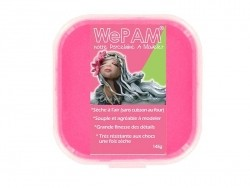 Pâte WePAM - rose fluo