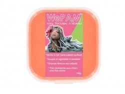 Pâte WePAM - orange fluo Wepam - 1