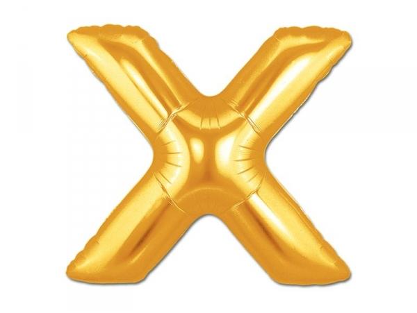 Acheter 1 ballon alphabet doré 40 cm - lettre X - 1,49€ en ligne sur La Petite Epicerie - 100% Loisirs créatifs