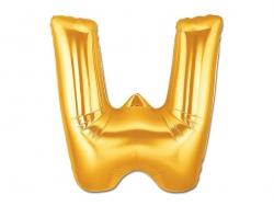 1 ballon alphabet doré 40 cm - lettre X