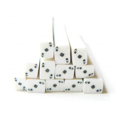 Acheter Cane carte as de pique- en pâte polymère - à trancher - 0,99€ en ligne sur La Petite Epicerie - Loisirs créatifs
