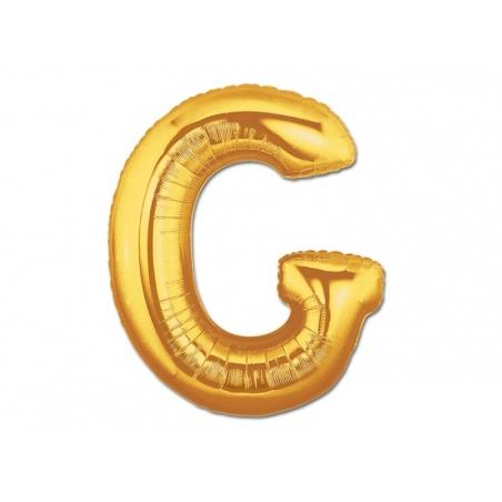 Acheter 1 ballon alphabet doré 40 cm - lettre G - 1,49€ en ligne sur La Petite Epicerie - 100% Loisirs créatifs