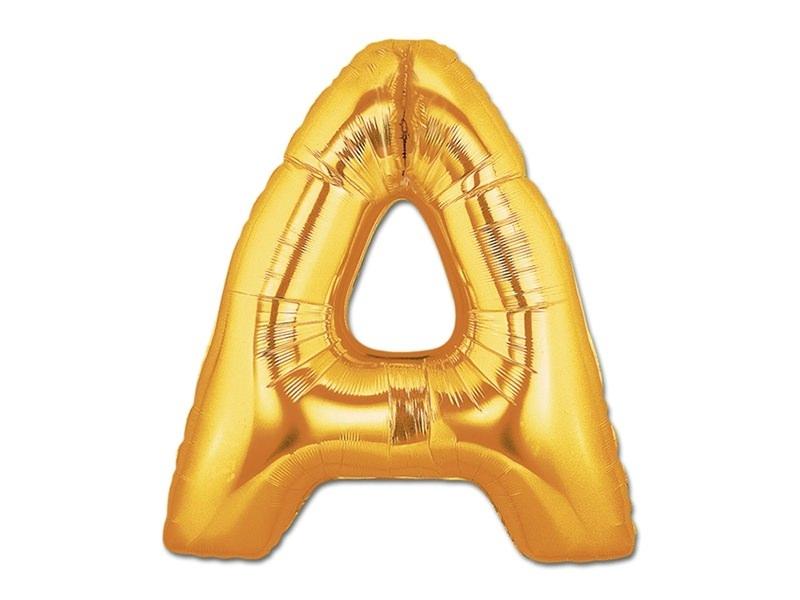Acheter 1 ballon alphabet doré 40 cm - lettre A - 1,49€ en ligne sur La Petite Epicerie - 100% Loisirs créatifs