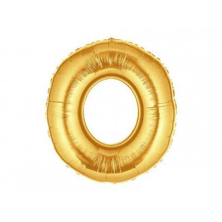 Acheter 1 ballon chiffre doré 40 cm - numéro 0 - 1,49€ en ligne sur La Petite Epicerie - Loisirs créatifs