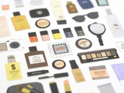 Stickers Maquillage