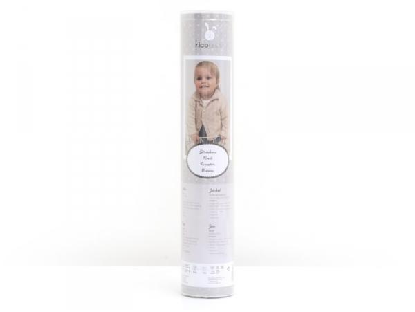 Kit Tricot - Veste pour bébé 62-68 (74-80) Rico Design - 1