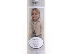 Acheter Kit Tricot - Veste pour bébé 62-68 (74-80) - 16,90€ en ligne sur La Petite Epicerie - 100% Loisirs créatifs