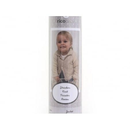 Kit Tricot - Veste pour bébé 62-68 (74-80) Rico Design - 3