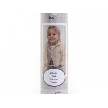 Knitting kit - Baby jacket 62-68 (74-80)
