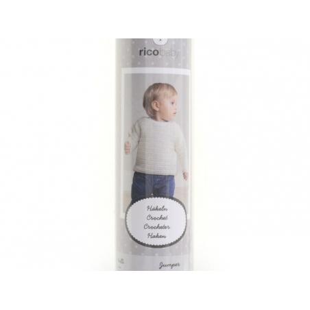 Crochet kit - Baby jumper 62 - 68 (74-80)