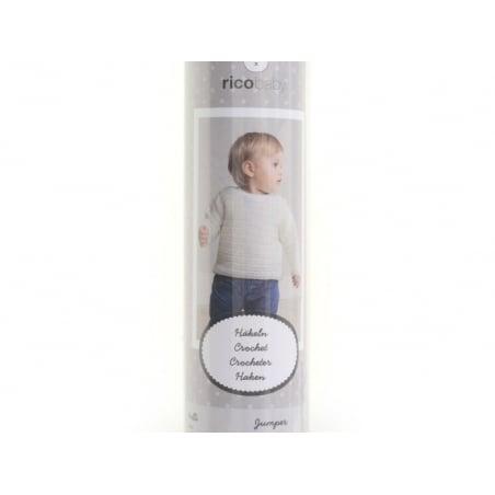 Kit crochet - Pull pour bébé 62-68 (74-80) Rico Design - 3