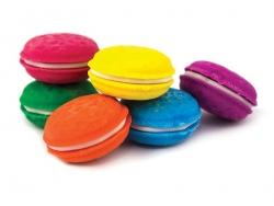 Acheter Lot de 6 gommes macarons - parfum Vanille - 5,95€ en ligne sur La Petite Epicerie - Loisirs créatifs