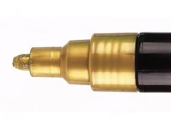 Boîte de 8 Marqueurs posca - pointe moyenne 2,5 mm - Couleurs metallisées Posca - 4