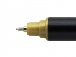POSCA-Marker - kalibrierte, extra feine Spitze (0,7 mm) - gold