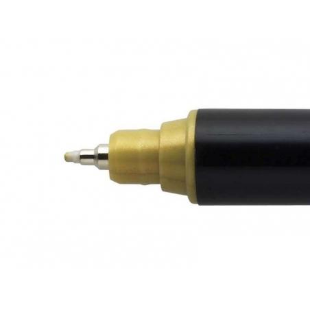 Acheter Marqueur posca - pointe calibrée extra-fine 0,7 mm - Or - 3,40€ en ligne sur La Petite Epicerie - Loisirs créatifs