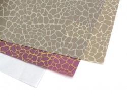 Papier décopatch - girafe bordeaux
