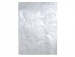 Papier décopatch - argenté