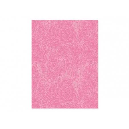 Décopatch paper - pink fur design