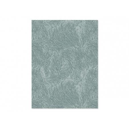 Papier décopatch - fourrure grise Décopatch - 1