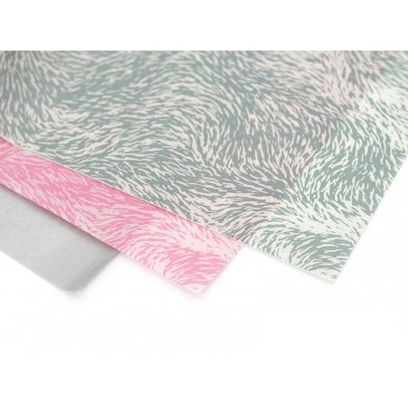 Papier décopatch - fourrure grise Décopatch - 2