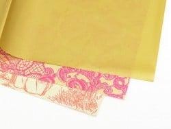 Papier décopatch - or