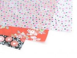 Papier décopatch - petites fleurettes